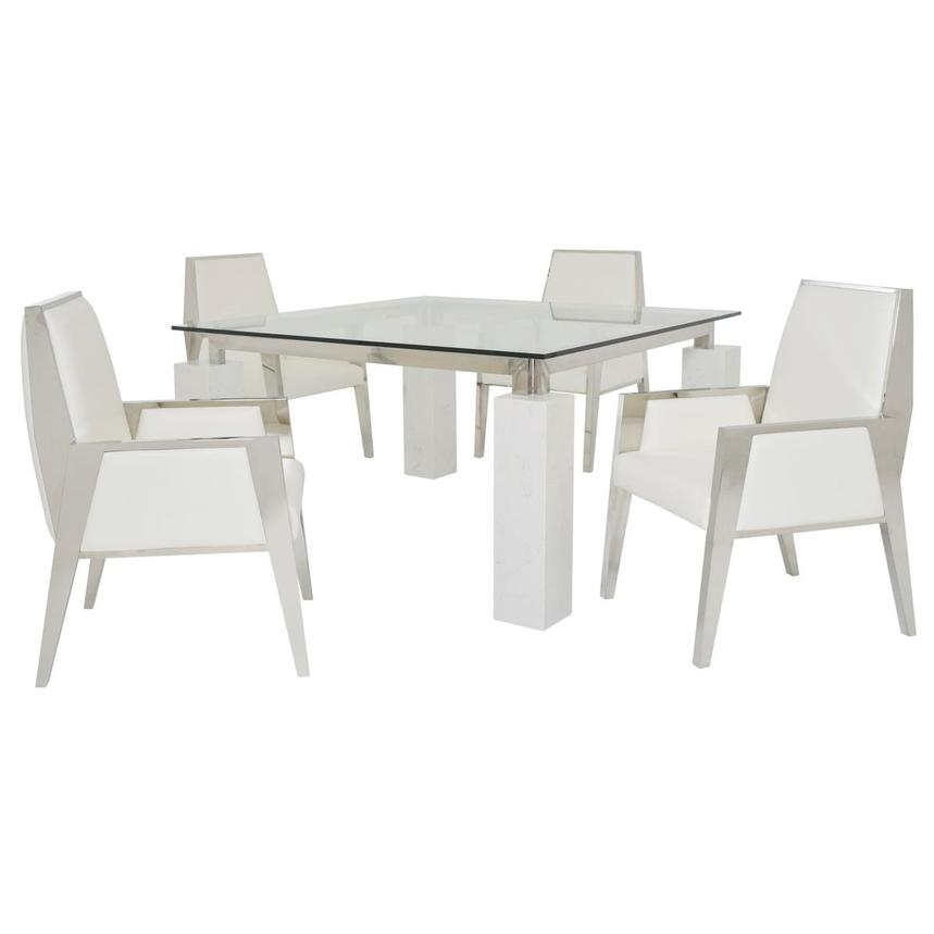 Myst 5-Piece Formal Dining Set  main image, 1 of 11 images.