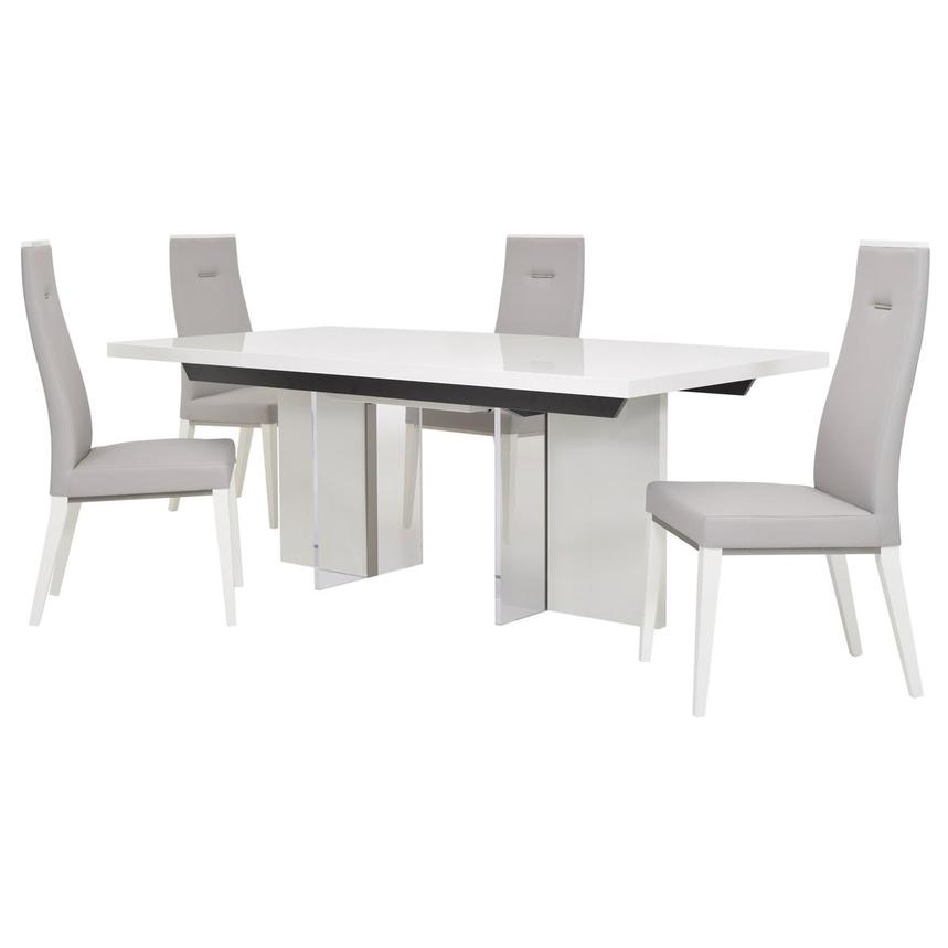 Siena 5-Piece Formal Dining Set Made in Italy  main image, 1 of 18 images.