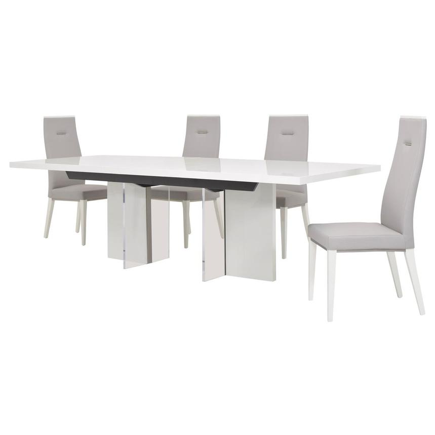 Siena 5-Piece Dining Set  alternate image, 4 of 17 images.