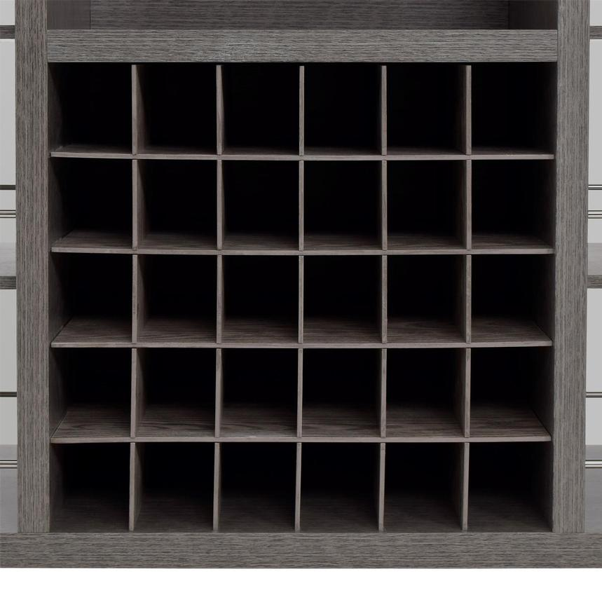 Freeport Gray Bar Cabinet  alternate image, 7 of 8 images.