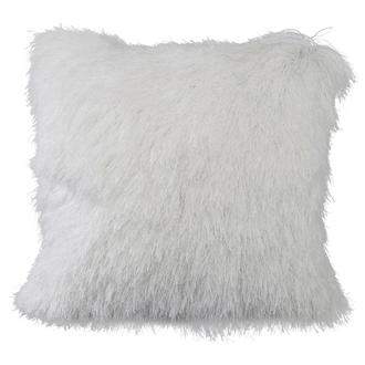 Milan White Accent Pillow