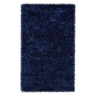 Fettuccini Blue/Black 5' x 8' Area Rug