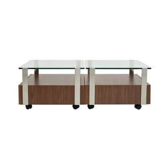 Kelsey Walnut Coffee Table Set of 2