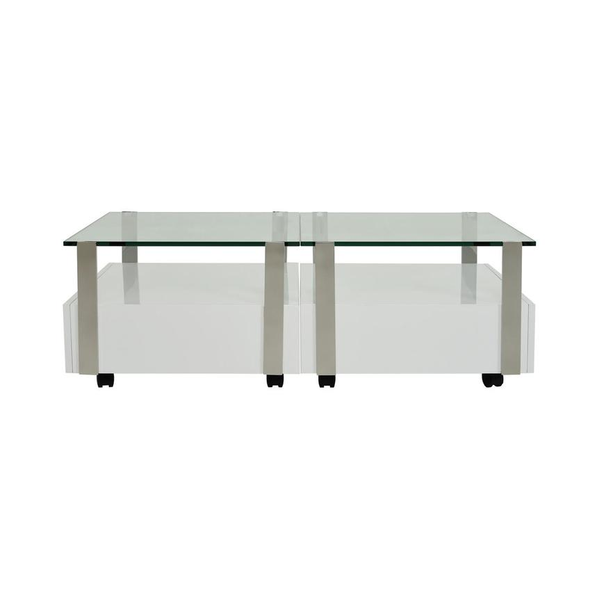 Kelsey White Coffee Table Set of 2