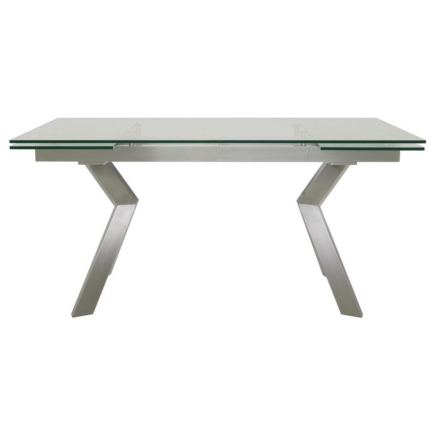 Lynne Clear Extendable Dining Table  main image, 1 of 6 images.