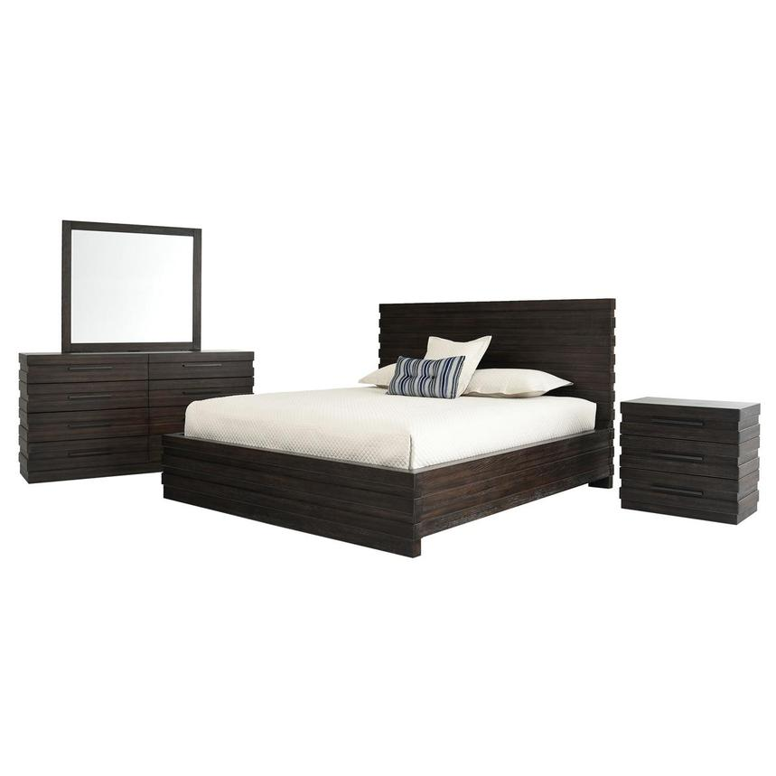 StackHause 4-Piece Queen Bedroom Set  main image, 1 of 5 images.
