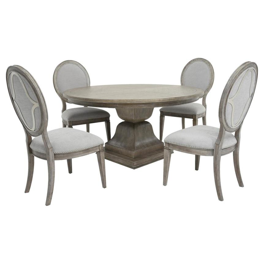 Kala 5-Piece Formal Dining Set  main image, 1 of 12 images.