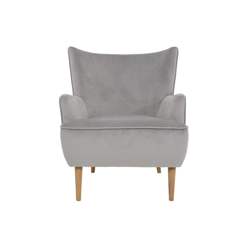 Zita Gray Accent Chair  main image, 1 of 6 images.