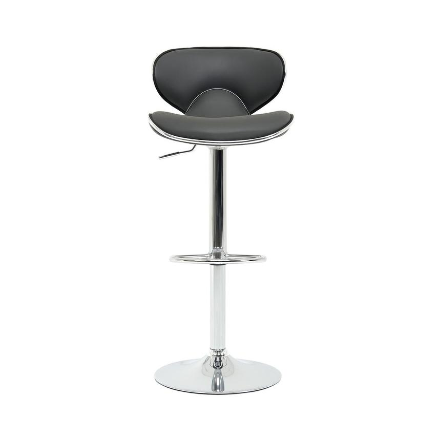 Clipper Gray Adjustable Stool  main image, 1 of 8 images.