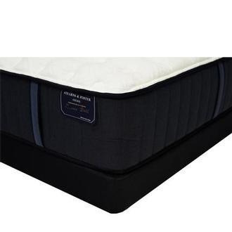 Hurston-TT King Mattress w/Regular Foundation by Stearns & Foster