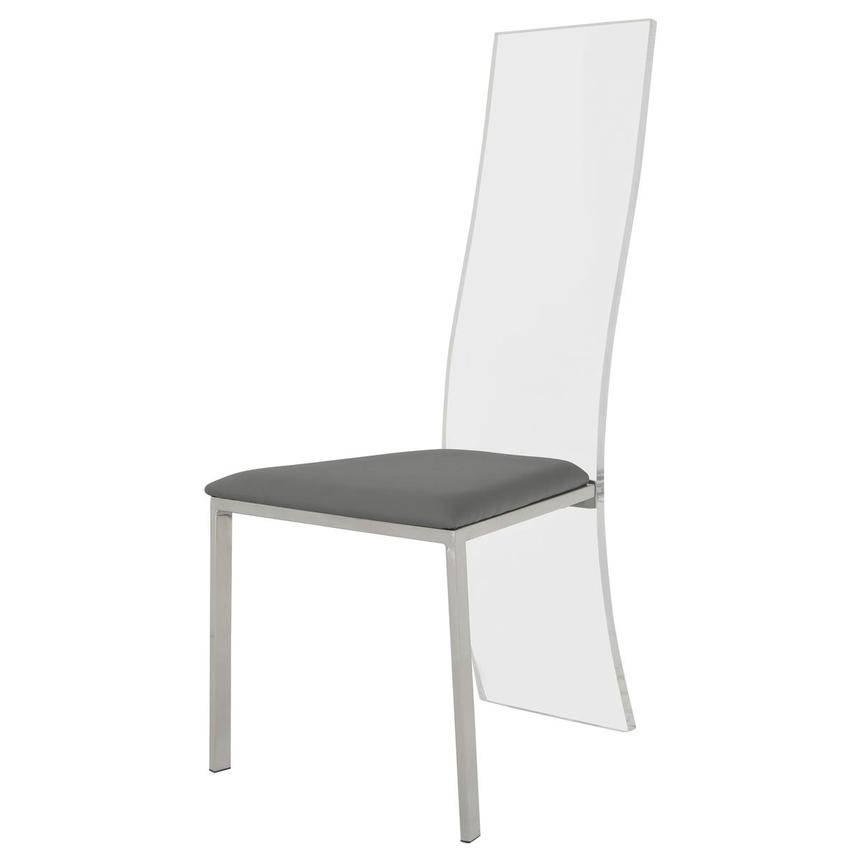Layra Gray Side Chair  alternate image, 2 of 6 images.