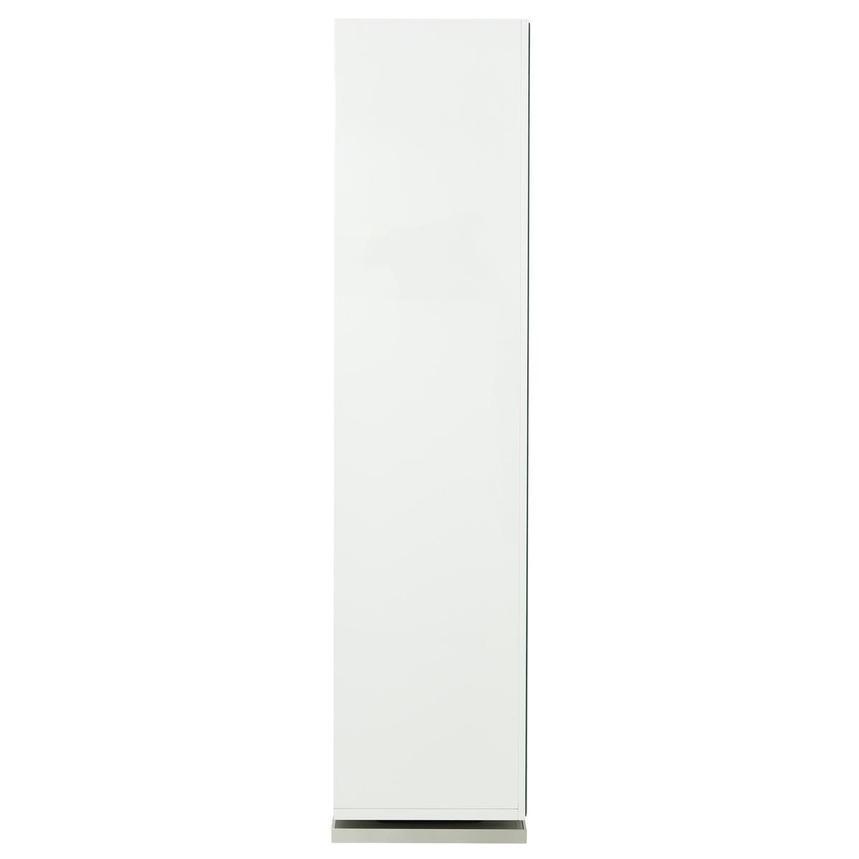 Ariana White Storage Mirror El Dorado Furniture
