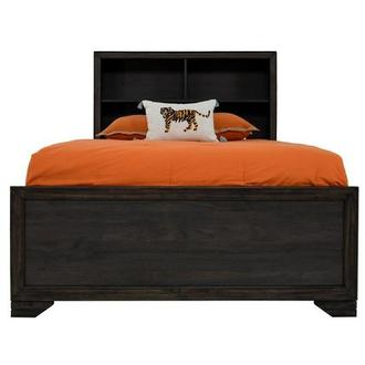 Granite Falls Twin Bookcase Bed