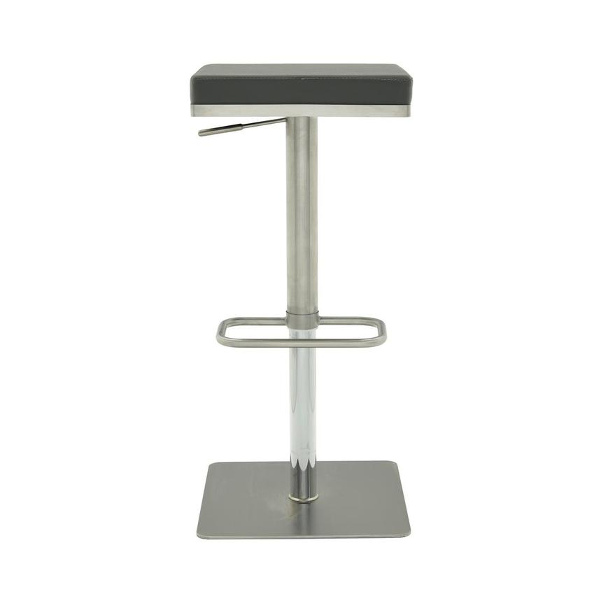 Allie Gray Adjustable Stool  main image, 1 of 8 images.