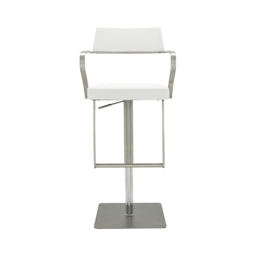 Amy White Adjustable Stool  main image, 1 of 9 images.