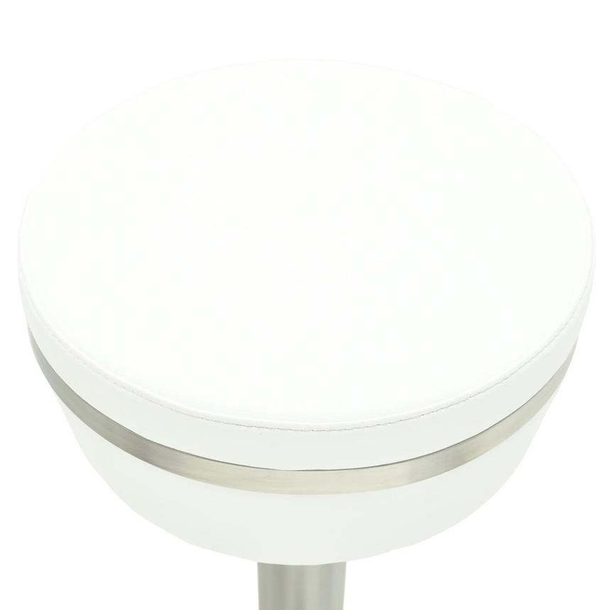 Lexi White Bar Stool  alternate image, 5 of 6 images.