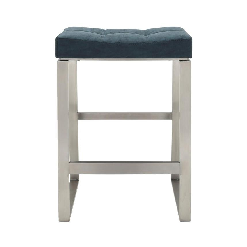 Sabriel Blue Counter Stool  main image, 1 of 6 images.