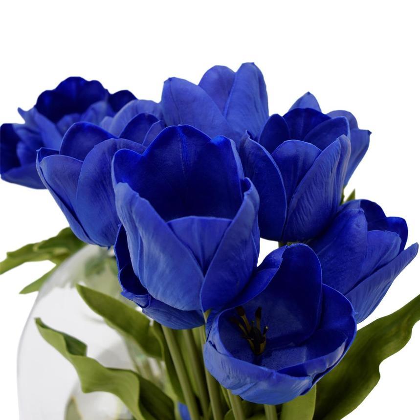 Beth Blue Flower Arrangement El Dorado Furniture
