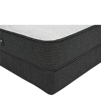BRBS900-TT-Firm Full Mattress w/Low Foundation by Simmons Beautyrest Silver