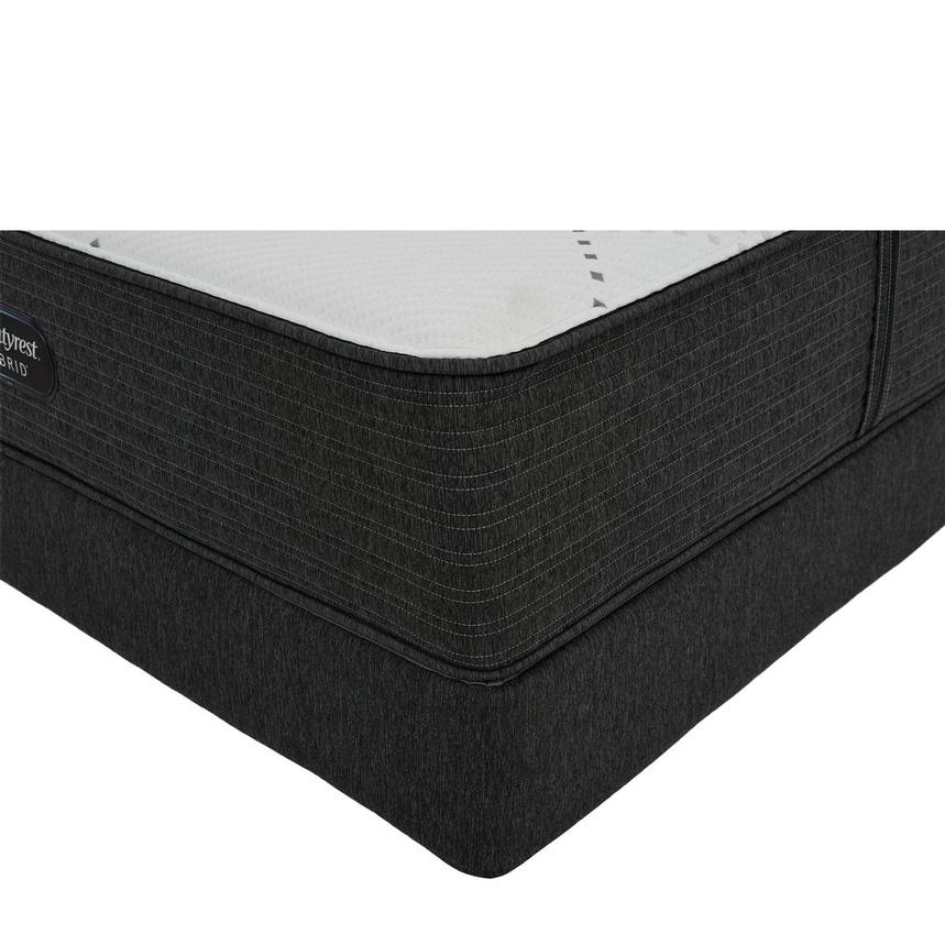 BRX 1000-Firm King Mattress w/Low Foundation by Simmons Beautyrest Hybrid  main image, 1 of 6 images.