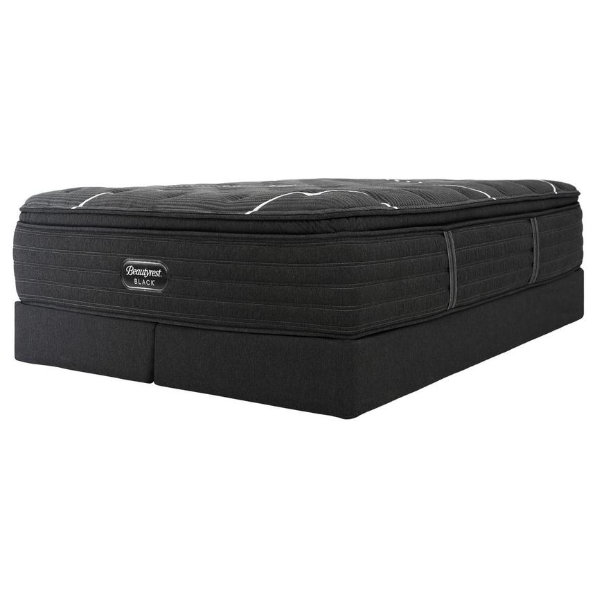 BRB-C-Class PT King Mattress w/Low Foundation by Simmons Beautyrest Black  alternate image, 3 of 6 images.