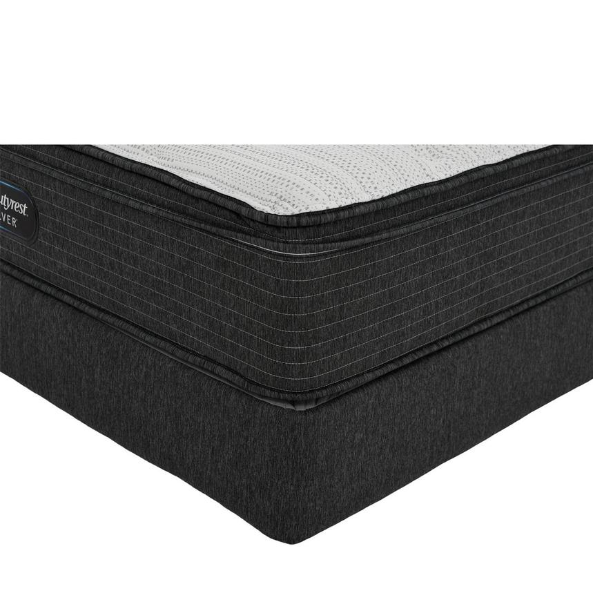 BRS900-ET-MS King Mattress w/Regular Foundation by Simmons Beautyrest Silver  main image, 1 of 6 images.