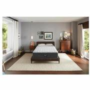BRS900-TT-Plush Queen Mattress w/Low Foundation by Simmons Beautyrest Silver  alternate image, 2 of 6 images.
