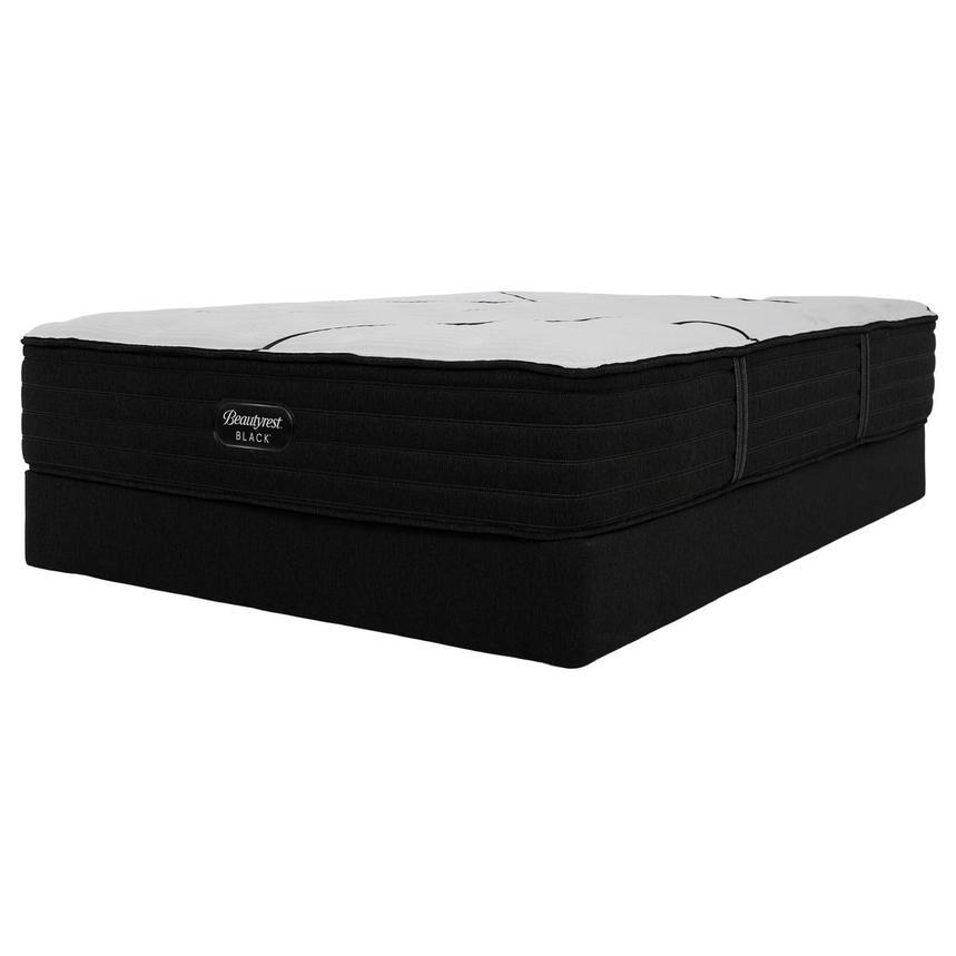 BRB-L-Class MF Queen Mattress w/Low Foundation by Simmons Beautyrest Black  alternate image, 3 of 6 images.