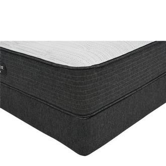 BRBS900-TT-Firm Queen Mattress w/Regular Foundation by Simmons Beautyrest Silver
