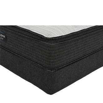 BRS900-ET-MS Queen Mattress w/Regular Foundation by Simmons Beautyrest Silver