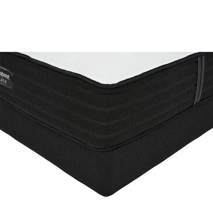 BRB-L-Class MF Queen Mattress w/Regular Foundation by Simmons Beautyrest Black  main image, 1 of 6 images.