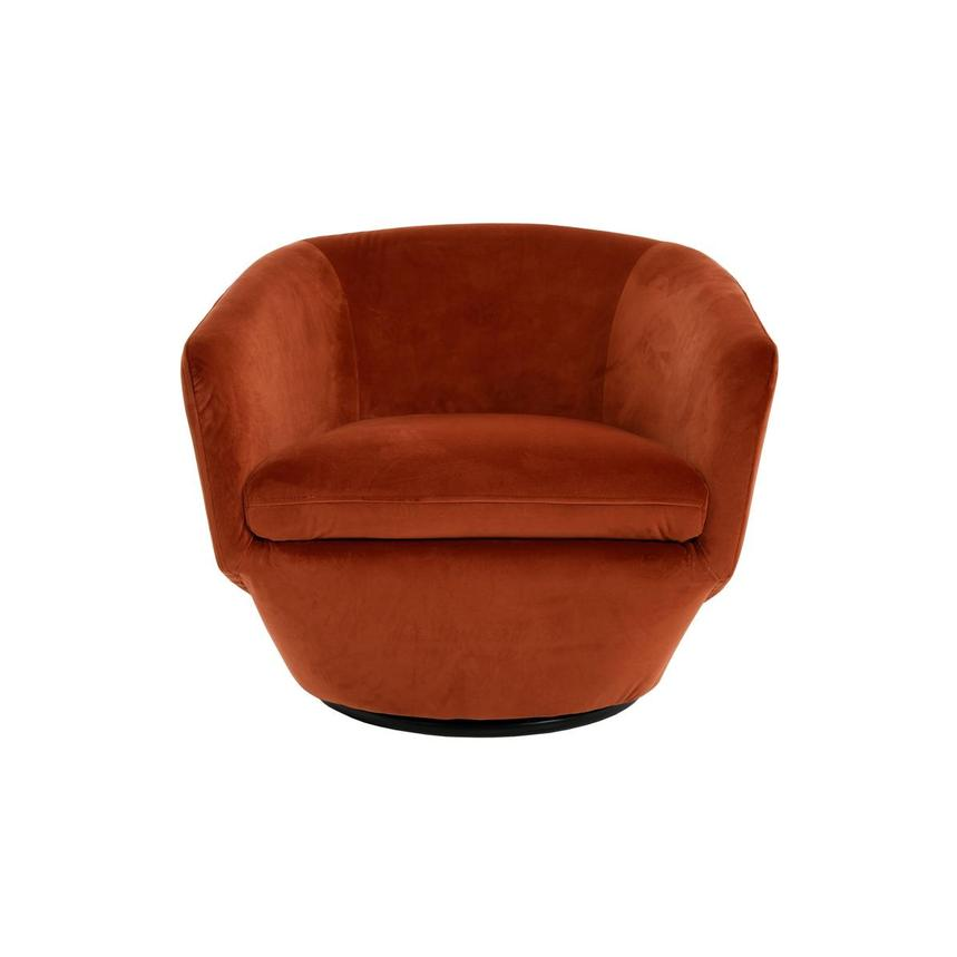 Excellent Andy Orange Swivel Accent Chair Pdpeps Interior Chair Design Pdpepsorg