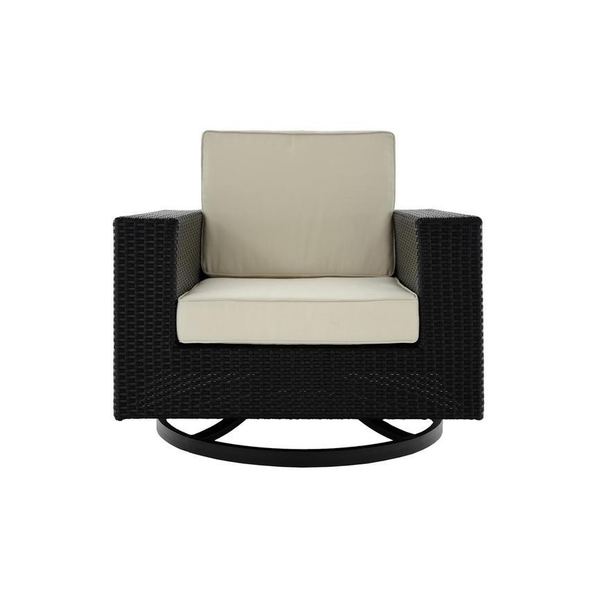 Neilina Black Swivel Rocker Chair El Dorado Furniture