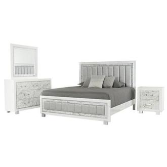 Alessandra 4-Piece King Bedroom Set