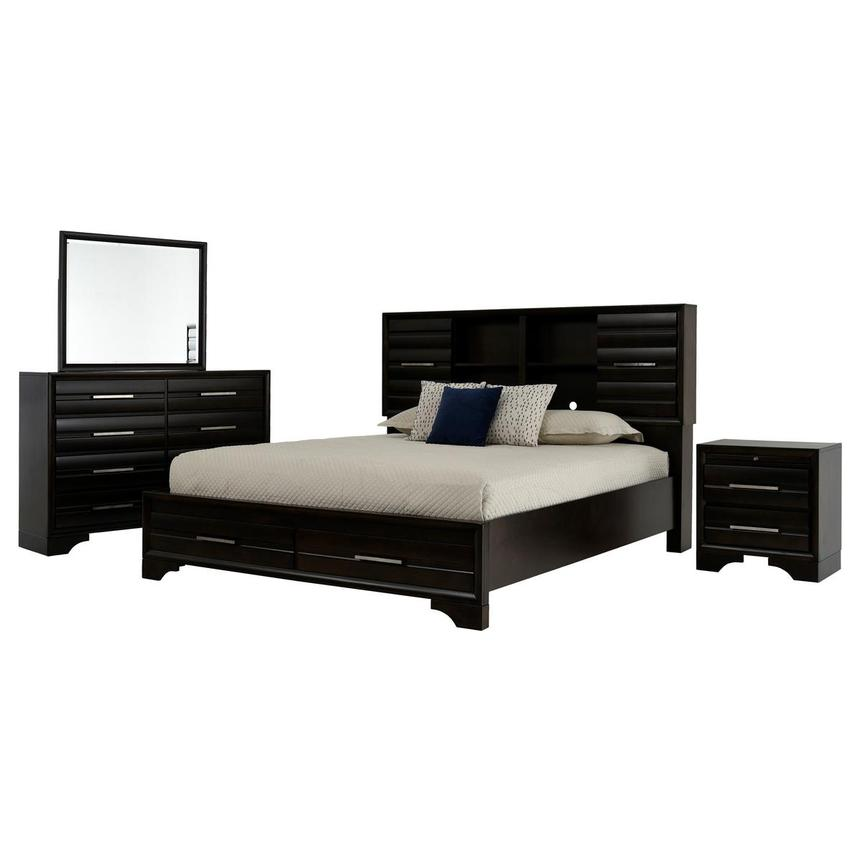 Andy 4-Piece Queen Bedroom Set  main image, 1 of 5 images.