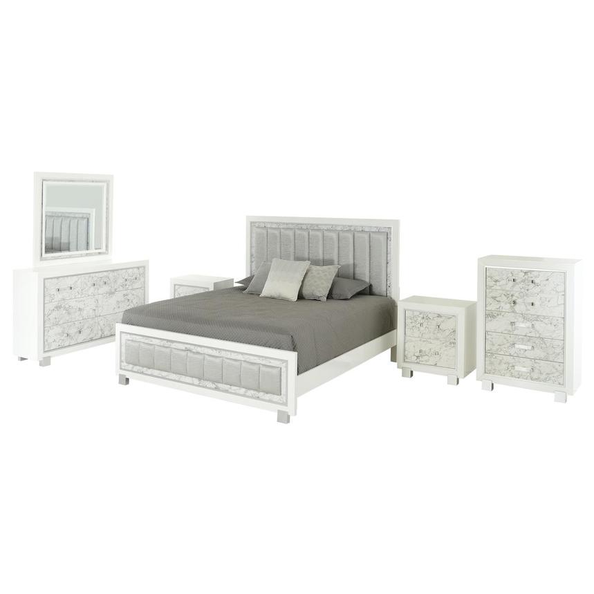 Alessandra 6-Piece King Bedroom Set  main image, 1 of 6 images.