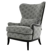Elle Dark Gray Accent Chair  alternate image, 2 of 5 images.