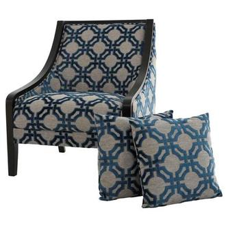 Anchor Accent Chair w/2 Pillows