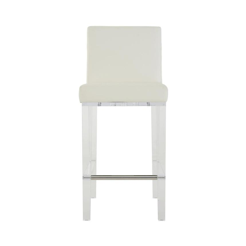 Mina White Counter Stool  main image, 1 of 6 images.