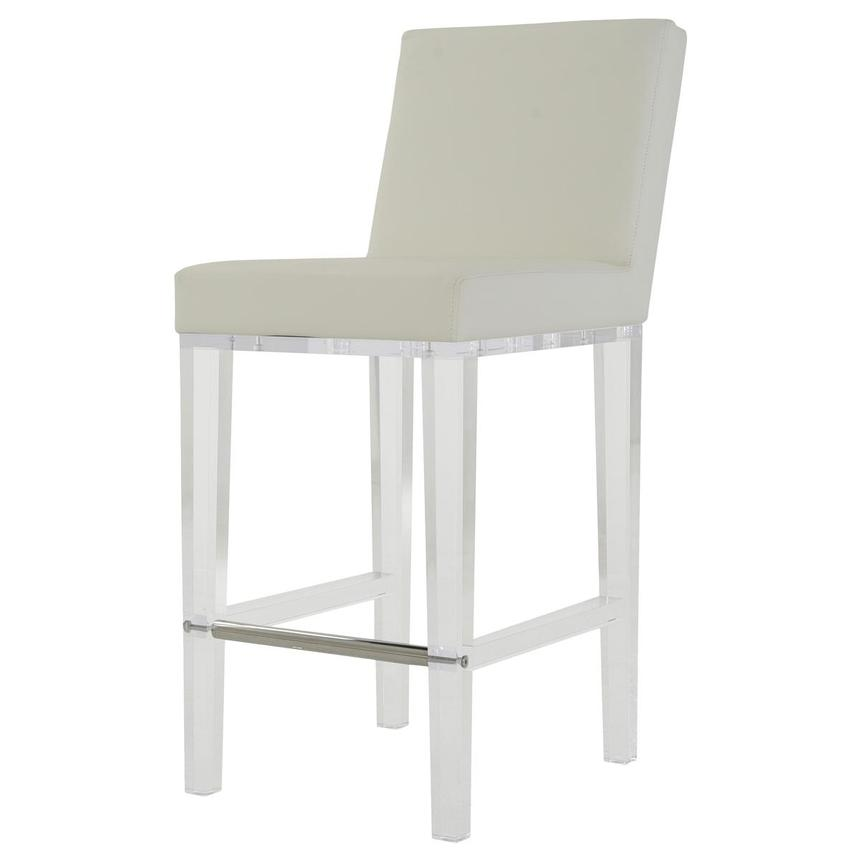Mina White Counter Stool  alternate image, 2 of 6 images.