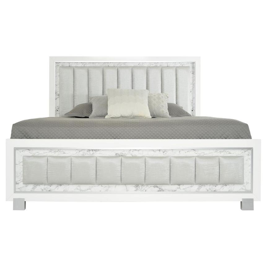 Alessandra King Panel Bed