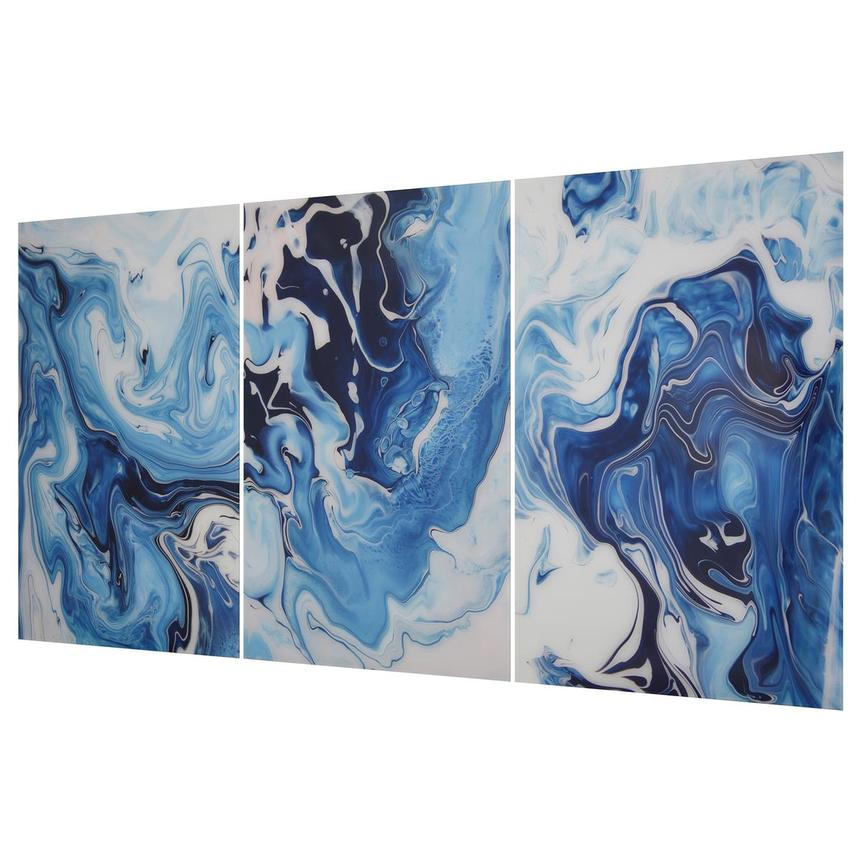 Azure Set of 3 Acrylic Wall Art  alternate image, 2 of 3 images.