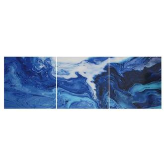 Cascade Set of 3 Acrylic Wall Art