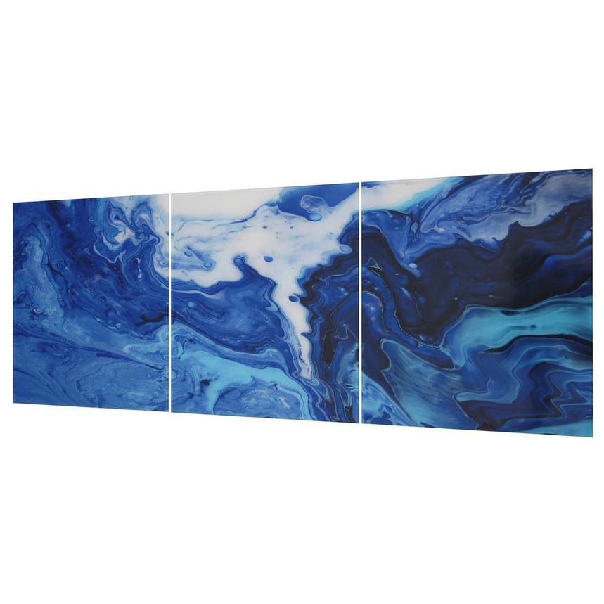 Cascade Set of 3 Acrylic Wall Art  alternate image, 2 of 3 images.