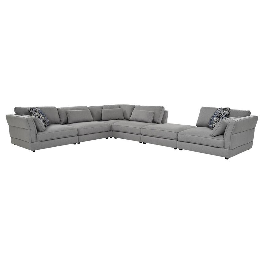 Skyward Sectional Sofa w/Ottoman  main image, 1 of 6 images.