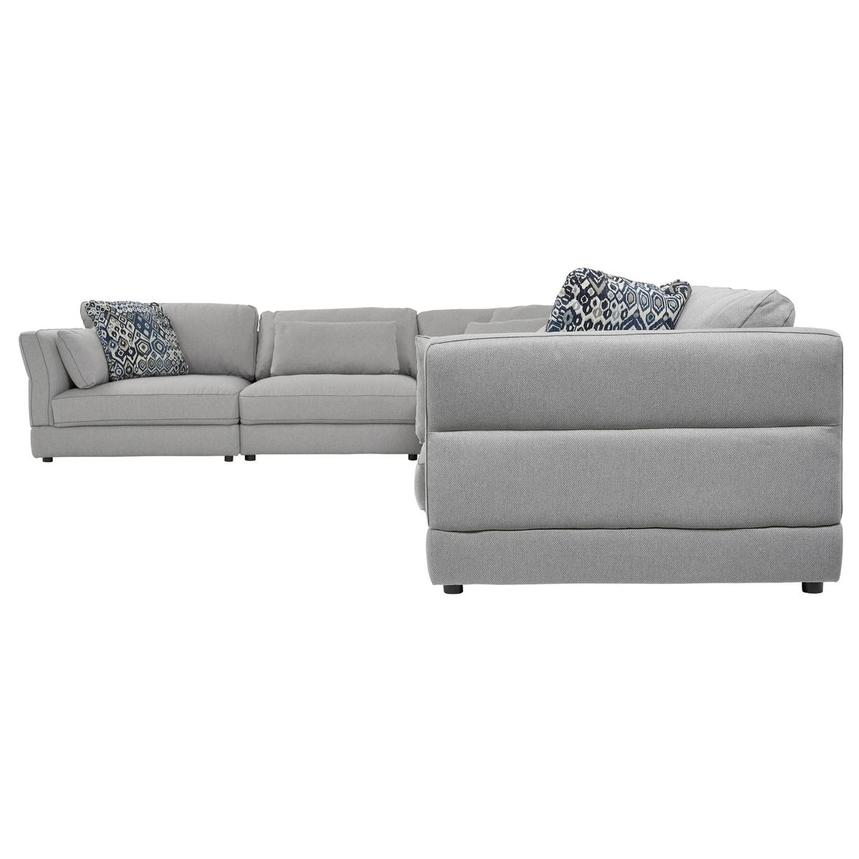 Skyward Sectional Sofa w/Ottoman  alternate image, 3 of 7 images.