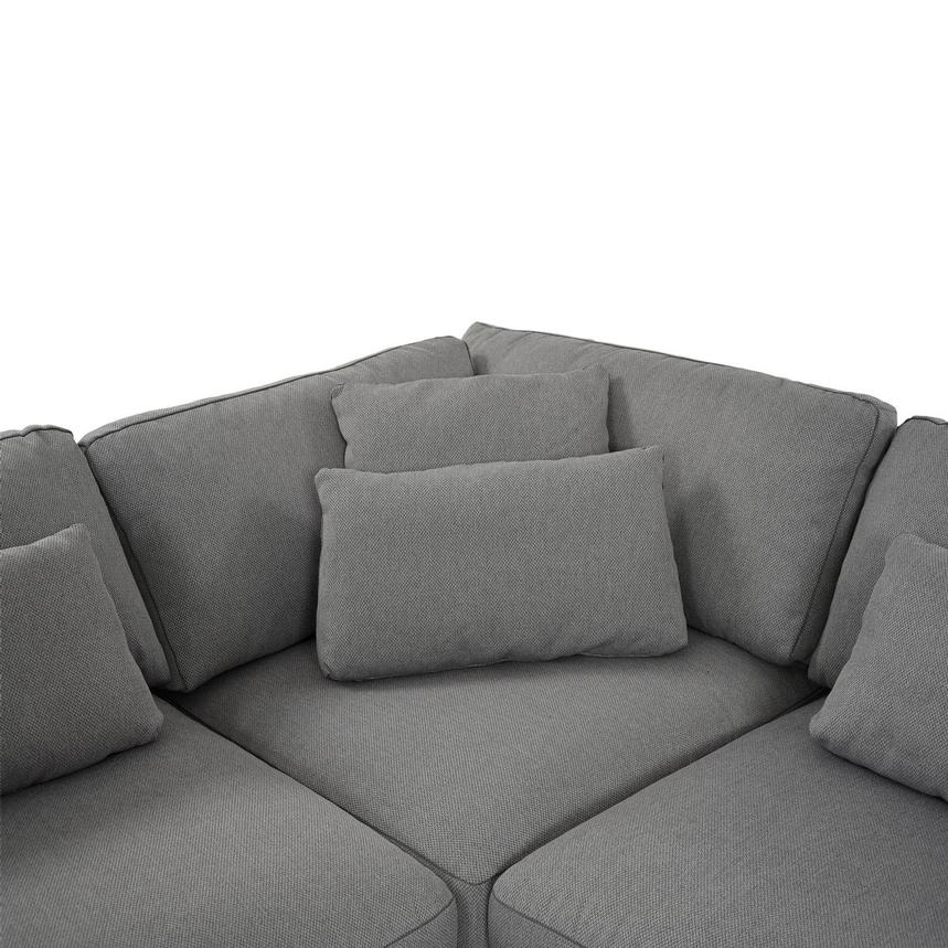 Skyward Sectional Sofa w/Ottoman  alternate image, 6 of 6 images.