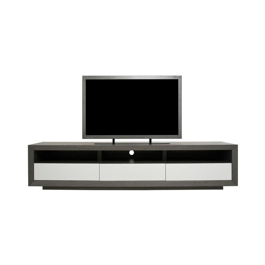 Contour II Gray TV Stand  main image, 1 of 8 images.