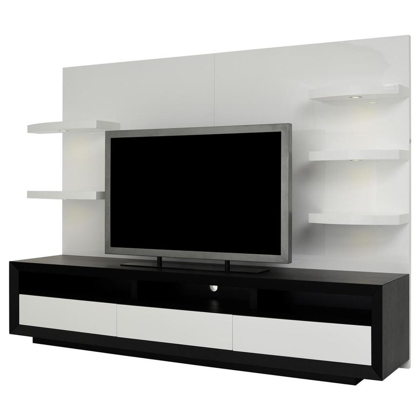 Contour II Black/White Wall Unit  alternate image, 2 of 9 images.