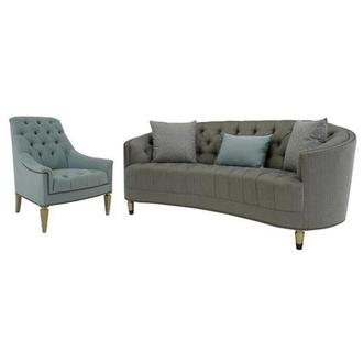 Kimberly Brass Living Room Set